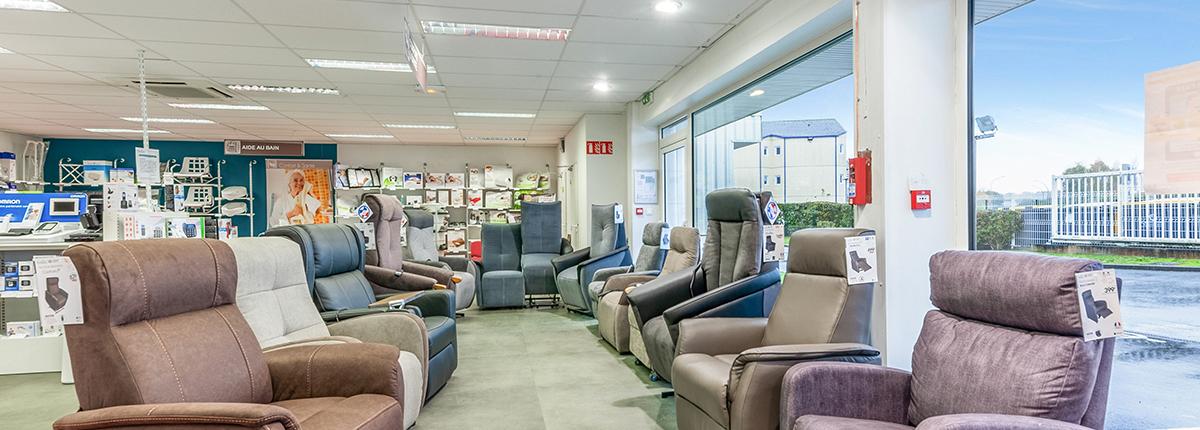 fauteuil releveur gamme moteur bastide le confort médical caen